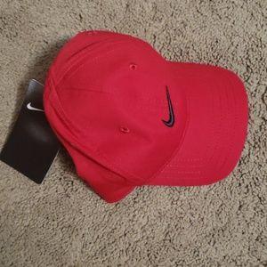 Nike Red baseball hat